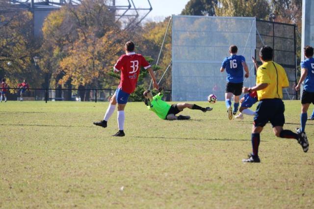 Fredrik soccer