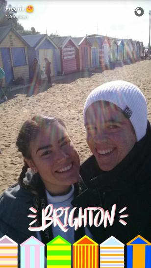 Snapchat brighton beach