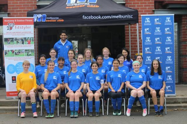 Karoline soccer team