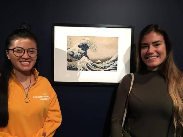 Hokusai famous painting