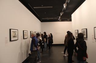 Hokusai utstilling/exhibition
